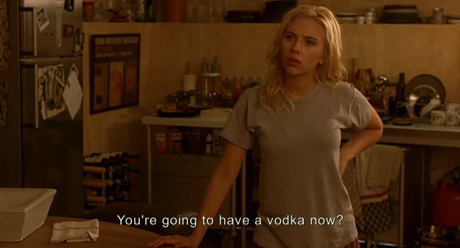 are you going to have vodka now?