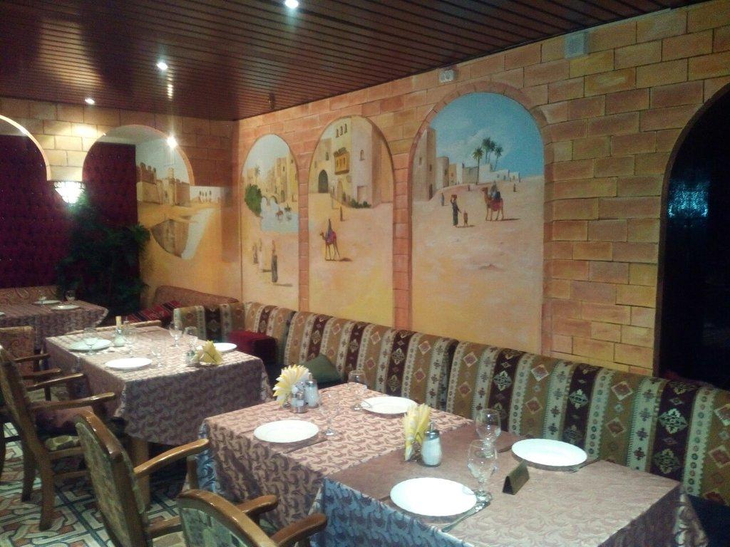 Ресторан Шахерезада. Москва Ярославская, 17, гостиница «Глобус»